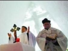 botez in biserica de gheata