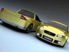 Volvo V70 Pickup Concept