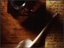 carte cerneala pana scriitor