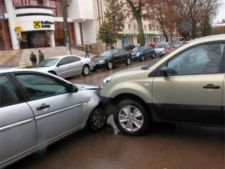 accident rutier tamponare