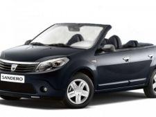 Dacia lanseaza varianta decapotabila pentru modelul Sandero