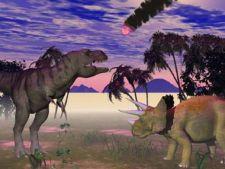 dinozauri, asteroid,