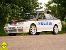 Prima masina modificata a Politiei
