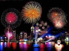Anul Nou focuri de artificii