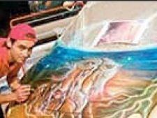 Masini pictate
