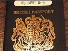 James Bond Passport