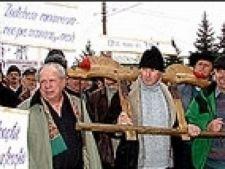 protest fermieri cluj