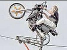 Bicicleta pe sarma